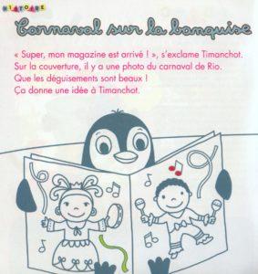 Carnaval banquise Toupie jeux mars 2015